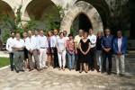 Imagen del grupo que está participando en el encuentro en la Escuela de Salud Pública de Menorca.